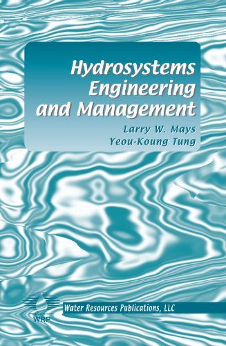 Hydrosystems Engineering and Management  2nd 2002 (Revised) edition cover