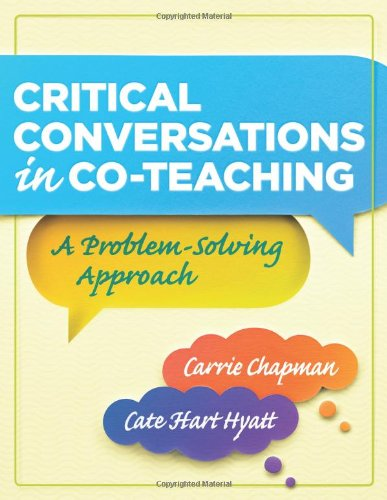Critical Conversations in Co-Teaching A Problem-Solving Approach  2011 edition cover