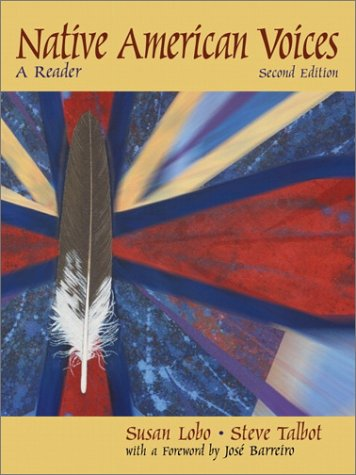 Native American Voices A Reader 2nd 2001 edition cover