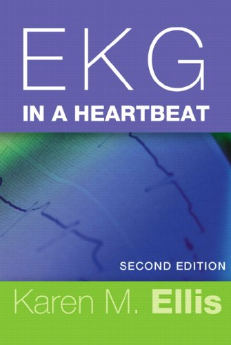 EKG in a Heartbeat  2nd 2012 edition cover