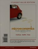 Microeconomics Principles, Applications, and Tools, Student Value Edition NEW MyEconLab with Pearson EText -- Access Card Package 8th 2014 edition cover