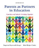 Parents As Partners in Education Families and Schools Working Together with Enhanced Pearson EText -- Access Card Package 9th edition cover