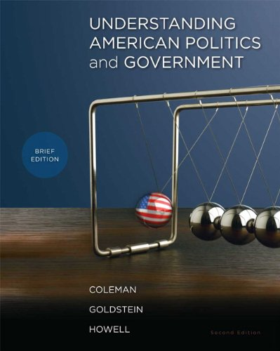 Understanding American Politics and Government, Brief Edition  2nd 2011 edition cover