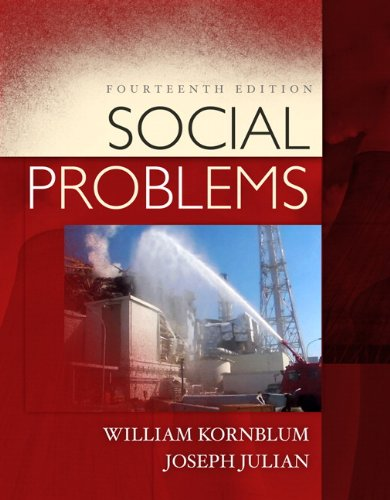 Social Problems  14th 2012 (Revised) edition cover