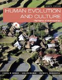 Human Evolution and Culture Highlights of Anthropology 8th 2015 edition cover