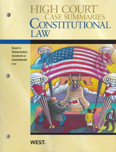 Constitutional Law, Keyed to Chemerinsky  3rd (Revised) 9780314266323 Front Cover