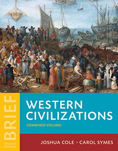 Western Civilizations: Their History & Their Culture  2015 9780393265323 Front Cover