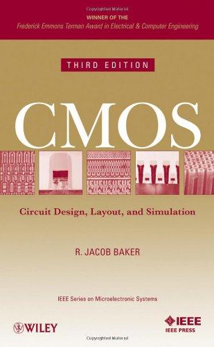 CMOS Circuit Design, Layout, and Simulation 3rd 2010 edition cover