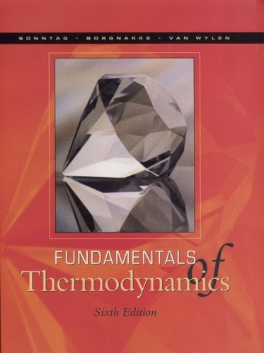 Fundamentals of Thermodynamics  6th 2003 (Revised) edition cover