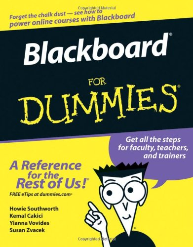 Blackboard for Dummies   2006 edition cover
