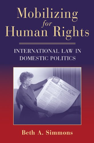 Mobilizing for Human Rights International Law in Domestic Politics  2009 edition cover