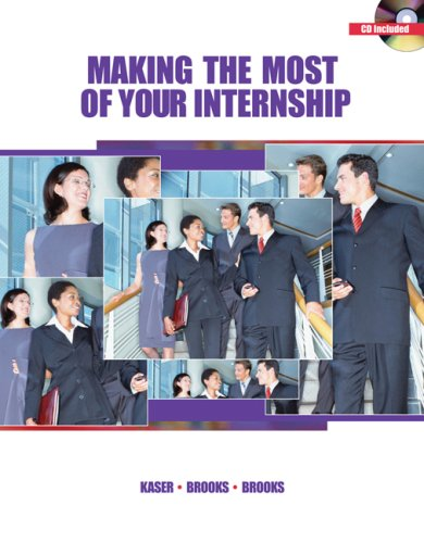 Making the Most of Your Internship   2007 9780538444323 Front Cover
