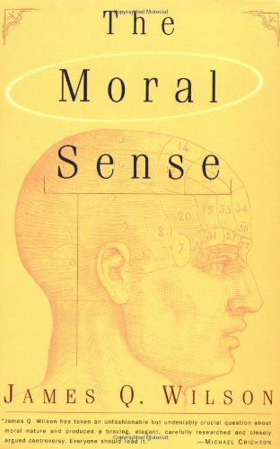 Moral Sense  2nd 1997 edition cover