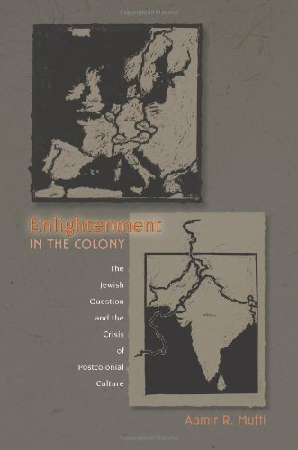 Enlightenment in the Colony The Jewish Question and the Crisis of Postcolonial Culture  2007 edition cover