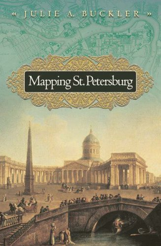 Mapping St. Petersburg Imperial Text and Cityshape  2005 edition cover