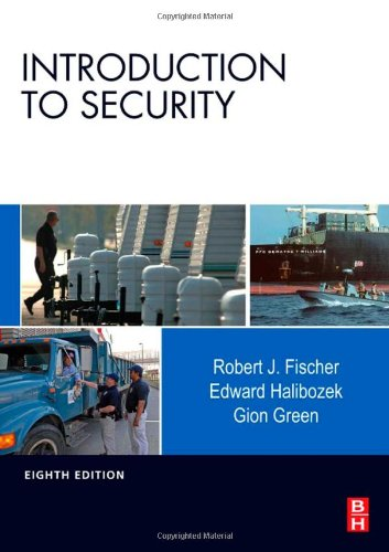 Introduction to Security  8th 2008 edition cover