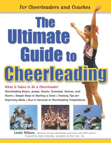 Ultimate Guide to Cheerleading For Cheerleaders and Coaches  2003 edition cover