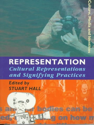 Representation Cultural Representations and Signifying Practices  1997 edition cover