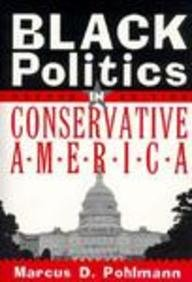 Black Politics in Conservative America  2nd 1999 edition cover