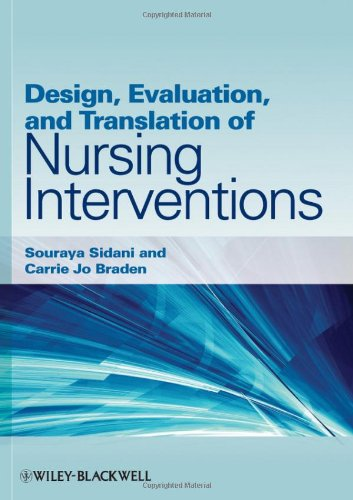 Design, Evaluation, and Translation of Nursing Interventions   2011 edition cover
