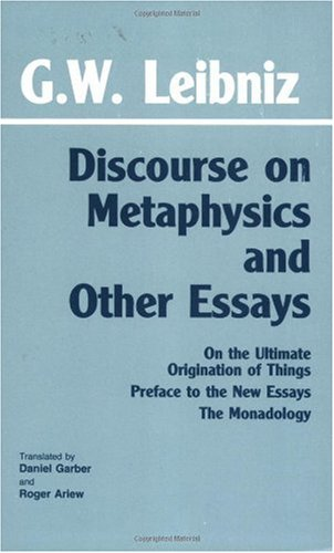 Discourse on Metaphysics and Other Essays  N/A edition cover