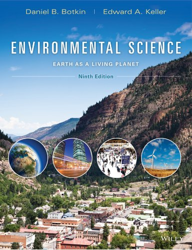 Environmental Science: Earth As a Living Planet  2013 9781118427323 Front Cover