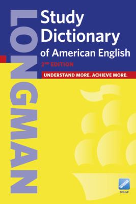 Longman Study Dictionary of American English  2nd 2011 edition cover