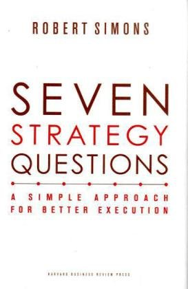 Seven Strategy Questions A Simple Approach for Better Execution  2010 edition cover