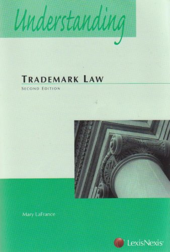 Understanding Trademark Law  2nd 2009 edition cover