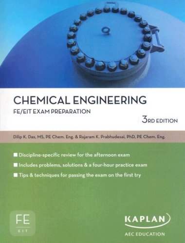 Chemical Engineering FE/EIT Exam Prep  3rd edition cover