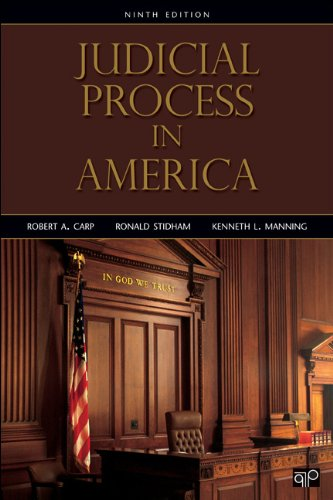 Judicial Process in America: 9th 2013 9781452226323 Front Cover