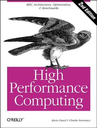 High Performance Computing   1993 edition cover