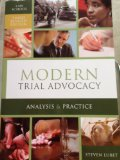 MODERN TRIAL ADVOCACY-LAW SCHO N/A edition cover