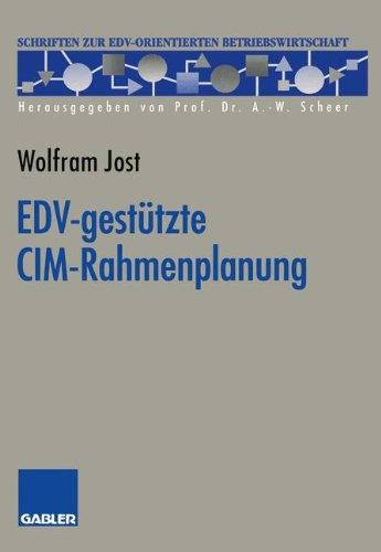 EDV-Gestützte CIM-Rahmenplanung:   1993 edition cover