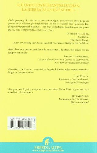Cinco Disfunciones de un Equipo Un Inteligente Modelo para Formar un Equipo Cohesionado y Eficaz  2003 edition cover