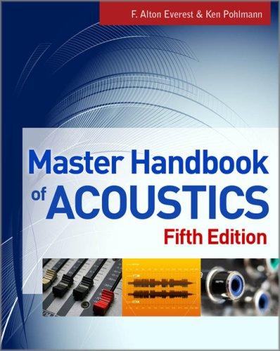 Master Handbook of Acoustics  5th 2009 edition cover