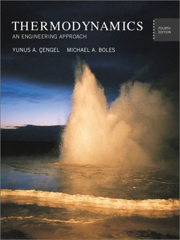 Thermodynamics An Engineering Approach 4th 2002 edition cover