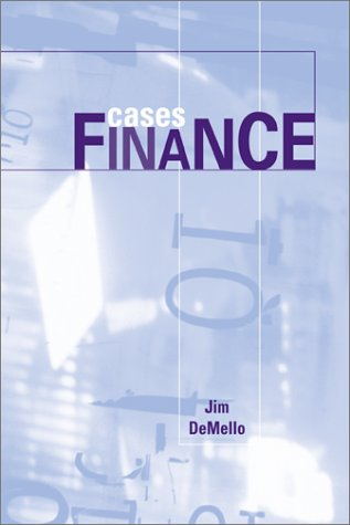 Cases in Finance 1st 2003 9780072536324 Front Cover