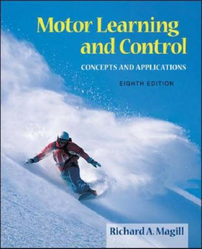 Motor Learning and Control Concepts and Applications 8th 2007 (Revised) edition cover