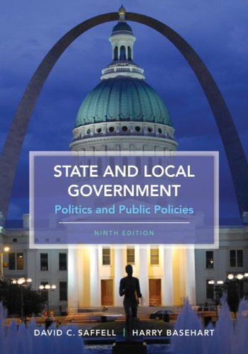 State and Local Government Politics and Public Policies 9th 2009 edition cover