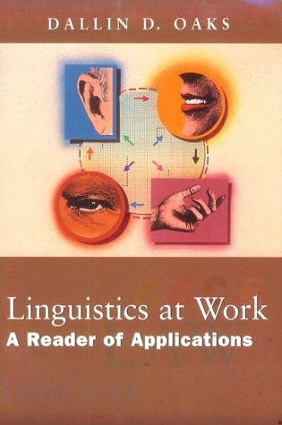 Linguistics at Work A Reader of Applications  1998 edition cover