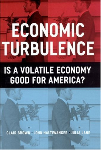 Economic Turbulence Is a Volatile Economy Good for America?  2006 edition cover