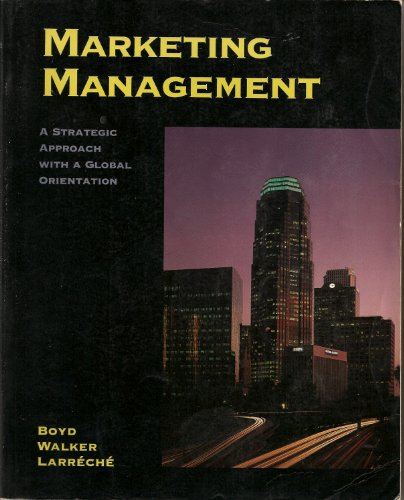 Marketing Management 3rd 1998 9780256226324 Front Cover