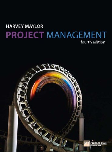 Project Management  4th 2010 edition cover