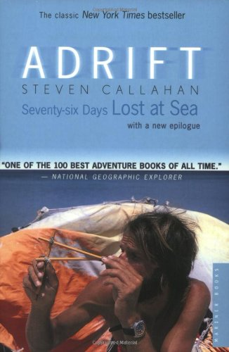Adrift Seventy-Six Days Lost at Sea  1986 edition cover