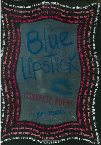 Blue Lipstick Concrete Poems  2007 edition cover