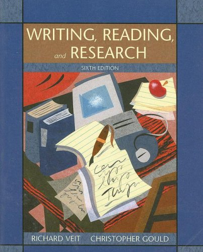Writing, Reading, and Research  6th 2004 9780618918324 Front Cover