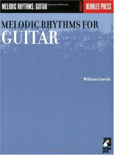 Melodic Rhythms for Guitar  N/A edition cover
