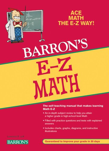 E-Z Math  5th 2009 (Revised) edition cover