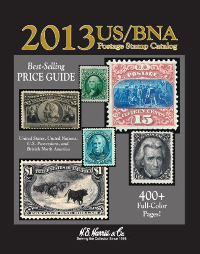 2013 US/BNA Postage Stamp Catalog: Price Guide for United States, United Nations, U.S. Possessions, and British North America  2012 edition cover